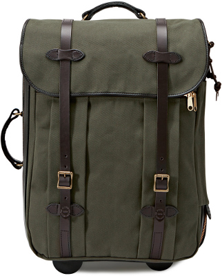 Fislon Otter Green Medium Rolling Check-In Bag 11070374