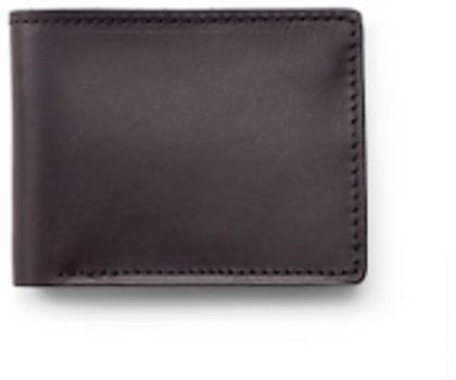 Filson Brown Bridle Leather Bi-Fold Wallet  11070399