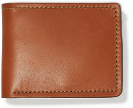 Filson Tan Bridle Leather Bi-Fold Wallet  11070399