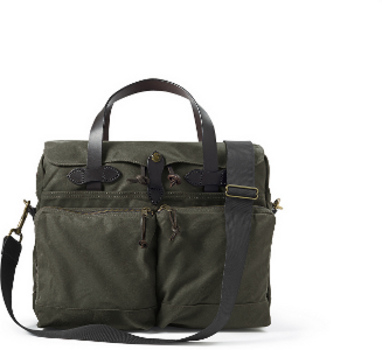 Filson Otter Green 24Hr. Tin Briefcase 11070140