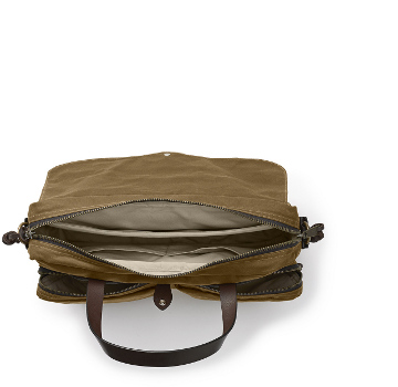 Filson Tan 24Hr. Tin Briefcase 11070140